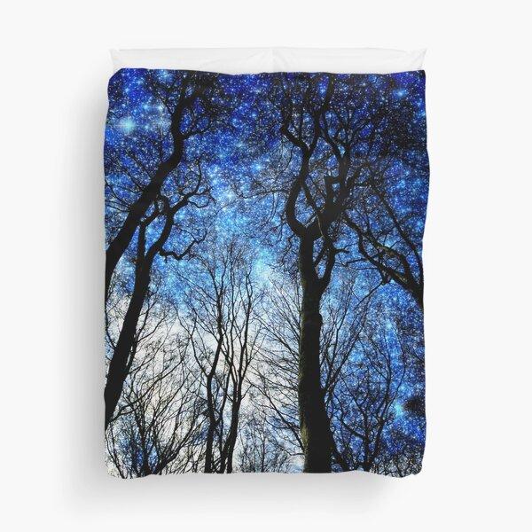 Fantasy blue sky Duvet Cover