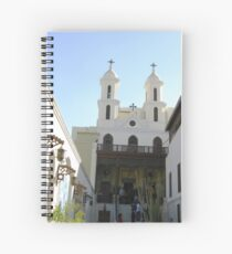 The Hanging Church - Coptic Cairo Spiral Notebook
