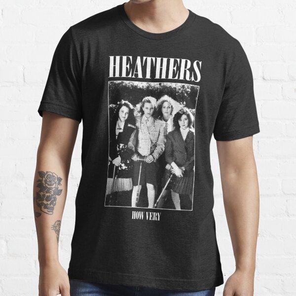 Heathers: How Very - Parodie du maillot rock T-shirt essentiel