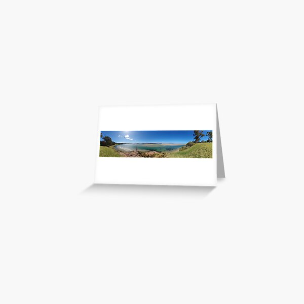 Captain Stevensons Point 360 Greeting Card
