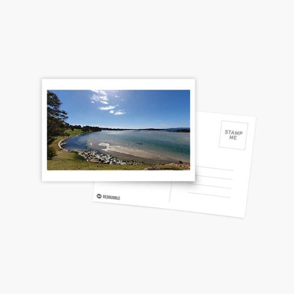 Captian Stevensons Point Lake Postcard