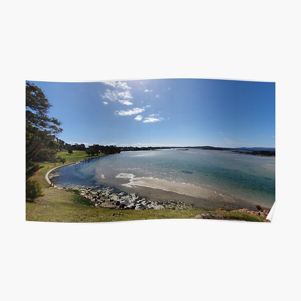 Captian Stevensons Point Lake Poster