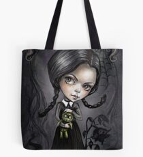 Bolsa de tela Gloomy Girl Wednesday Addams