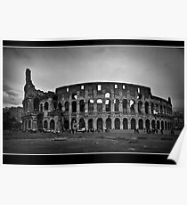 il colosseo Poster