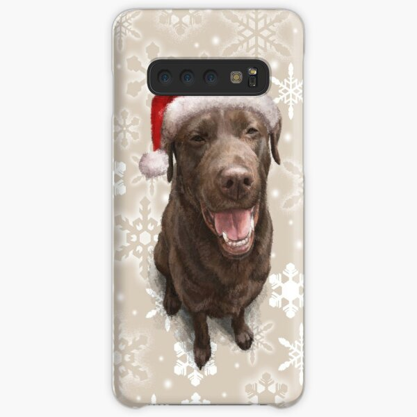 Milo the Christmas Labrador Samsung Galaxy Snap Case
