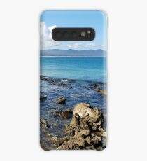 Mallacoota Bastian Point Rocks and Clouds Case/Skin for Samsung Galaxy