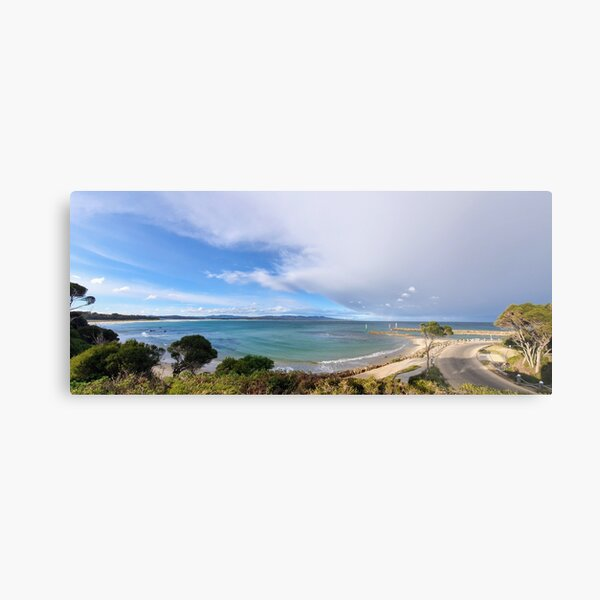 Mallacoota Bastian Point Boat Ramp Lookout Metal Print
