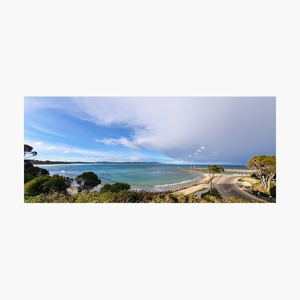 Mallacoota Bastian Point Boat Ramp Lookout Photographic Print