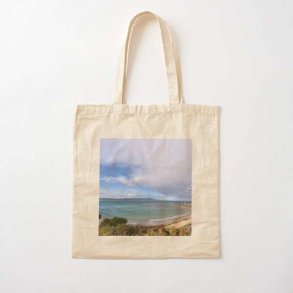 Mallacoota Bastian Point Boat Ramp Lookout Cotton Tote Bag