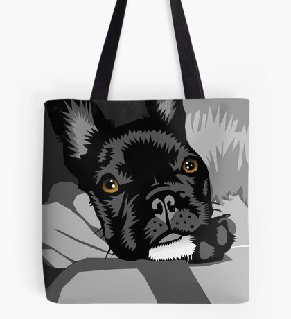 Diesel gets a hug Tote Bag