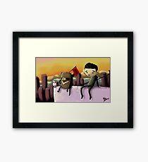 City Top Framed Print
