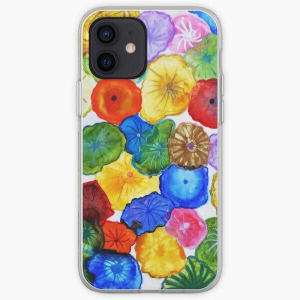 Fiori di Cuomo Z (Alcohol Ink) iPhone Soft Case