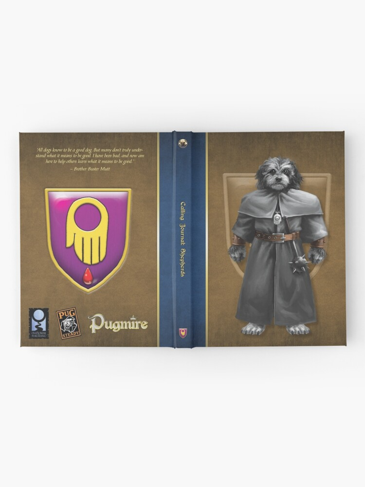 Alternate view of Pugmire: Brother Buster Mutt, Shepherd Calling Hardcover Journal