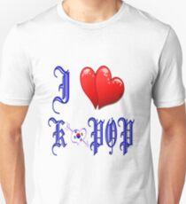 I LOVE K POP Unisex T-Shirt