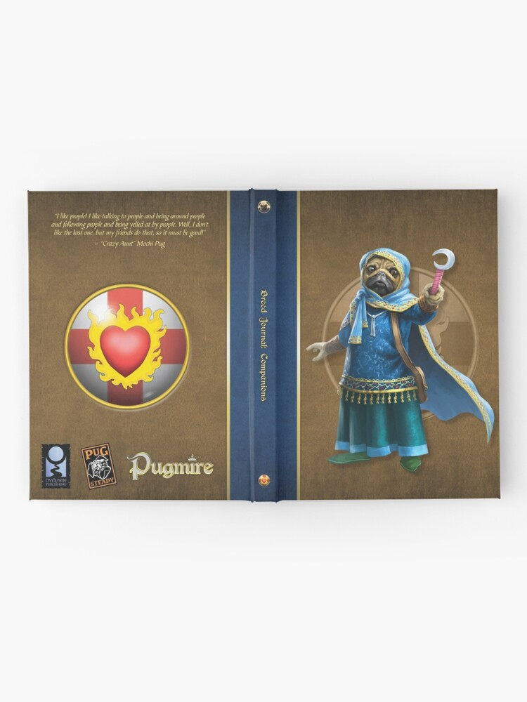 Alternate view of Pugmire: Mochi Pug, Companion Breed Hardcover Journal
