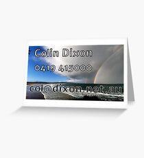 Rainbow Business Card Postcard Greeting Card