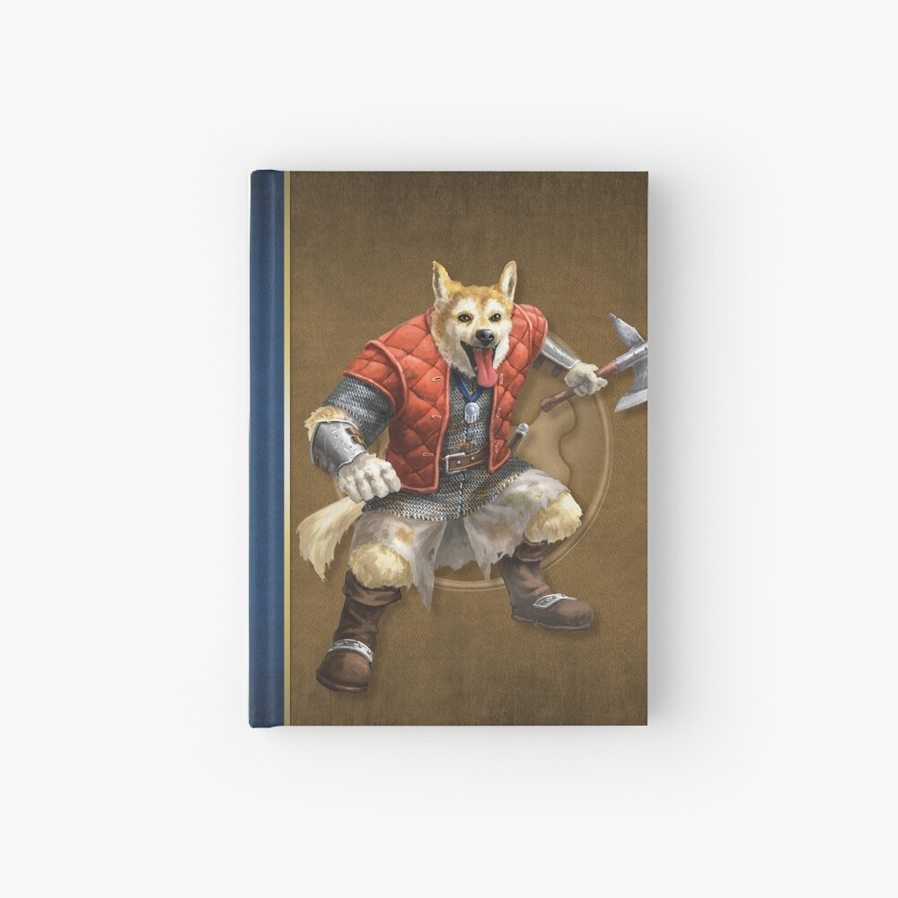 Pugmire: Dante Lundehund, Fettle Breed Hardcover Journal