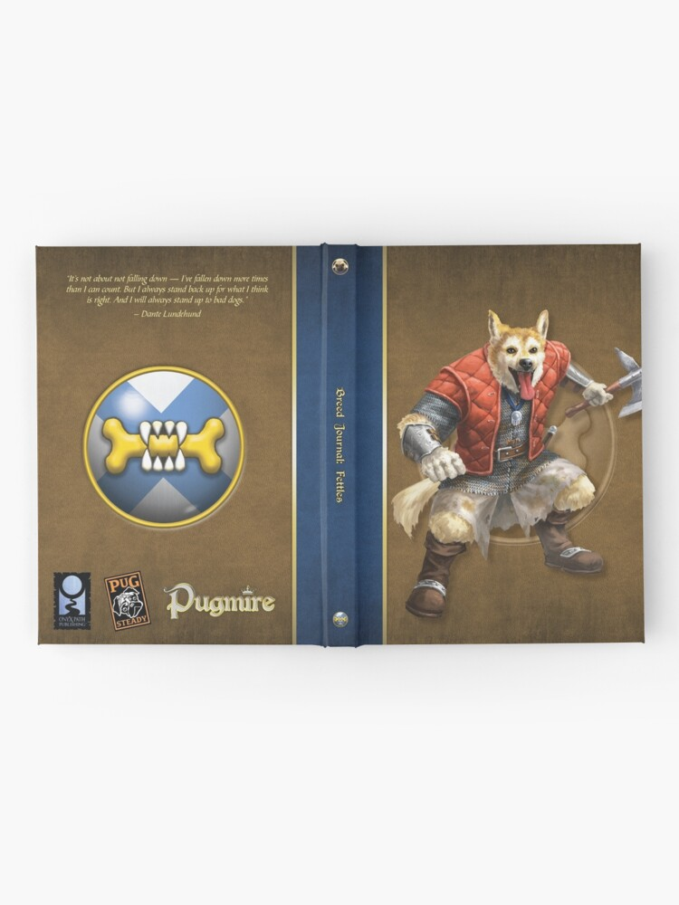 Alternate view of Pugmire: Dante Lundehund, Fettle Breed Hardcover Journal