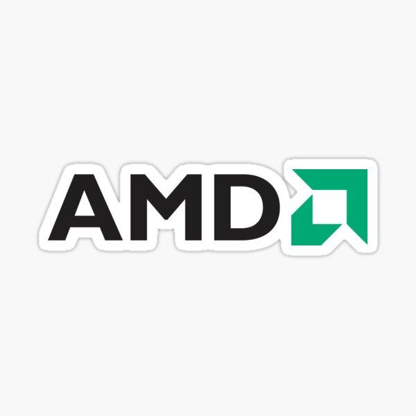 AMD Logo 1 Sticker