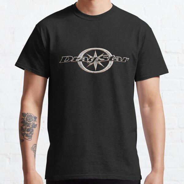 Drag Star, Dragstar XVS 1100, XVS 650, XVS 250 Logo Metal Classic T-Shirt