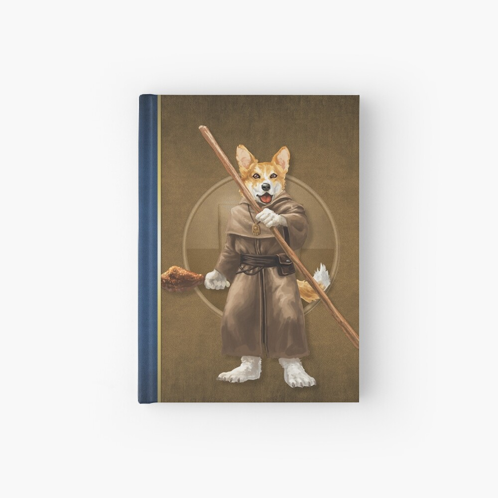 Pugmire: Brother Archer Corgi, Herder Breed Hardcover Journal