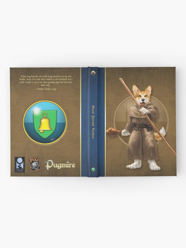 Alternate view of Pugmire: Brother Archer Corgi, Herder Breed Hardcover Journal
