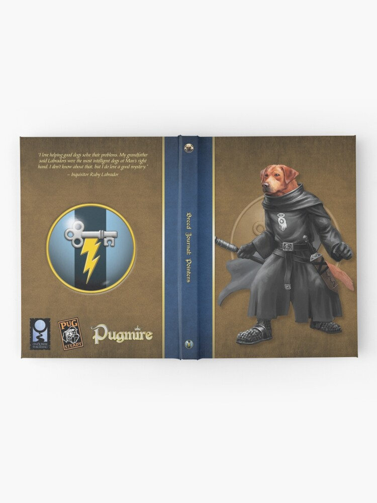 Alternate view of Pugmire: Inquisitor Ruby Labrador, Pointer Breed Hardcover Journal