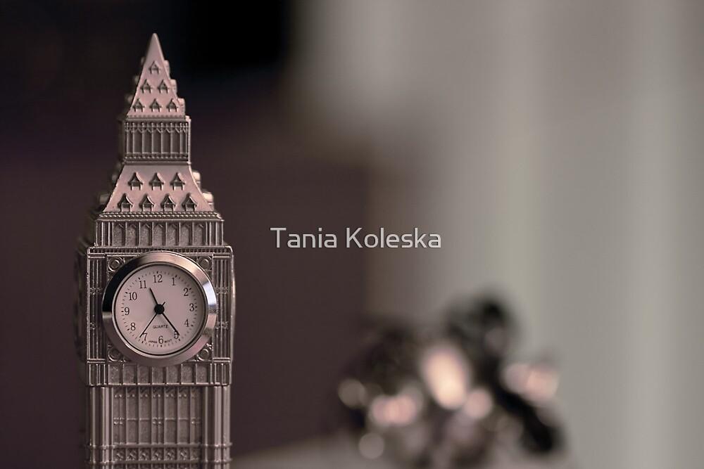 What time is it?????.....Ask Big Ben.... by Tania Koleska
