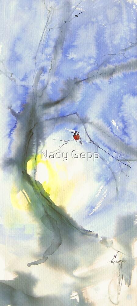 Bullfinch by Nady Gepp