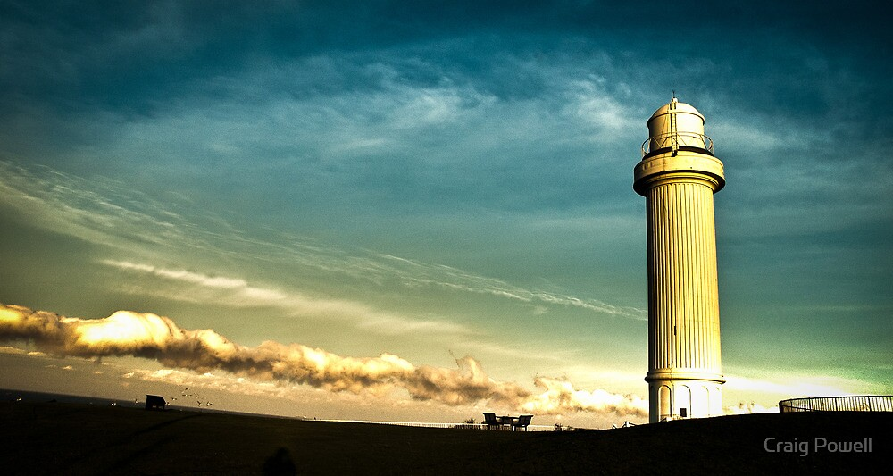 Wollongong Lighthouse - Sunset  by Craig Powell