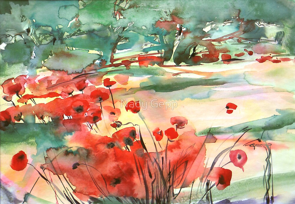 Meadow by Nady Gepp
