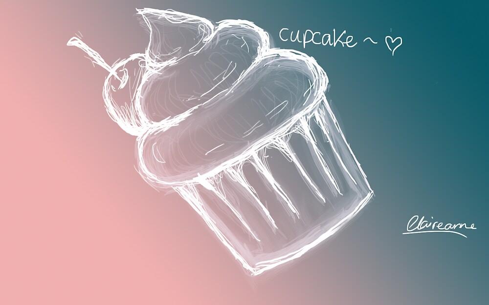 Panda Cupcake by Claire  Thomas