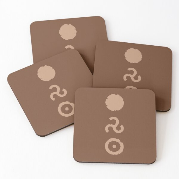 Coffee Runes Coasters (Set of 4)