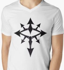 The Eye of Chaos - Dark Men's V-Neck T-Shirt