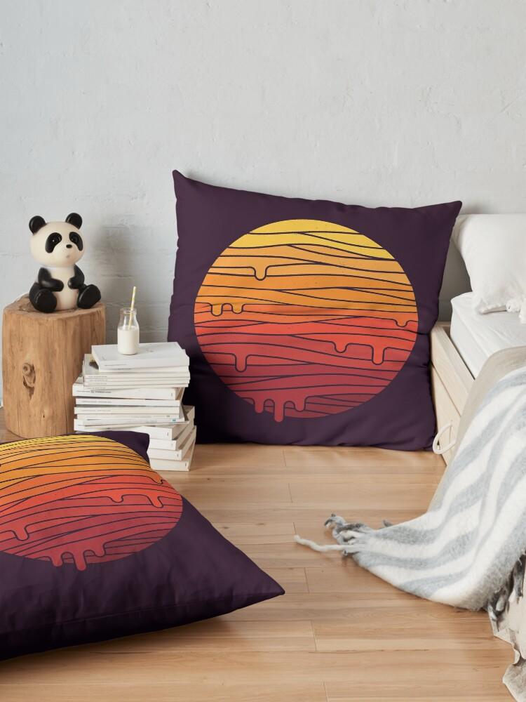 Alternate view of Heat Wave Floor Pillow