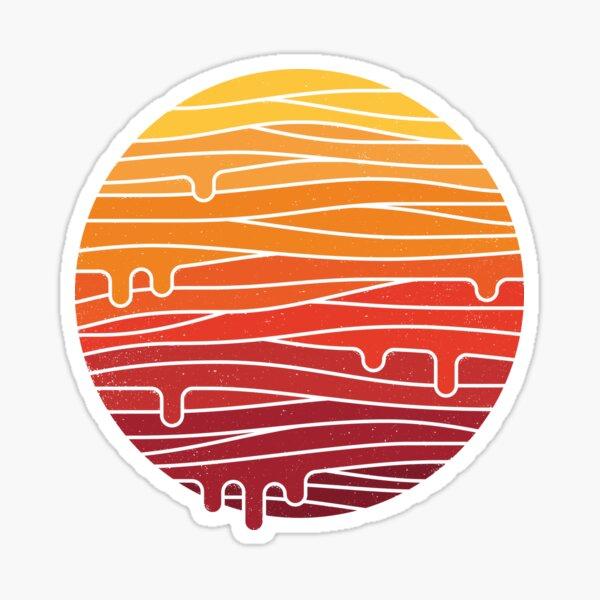 Heat Wave Sticker