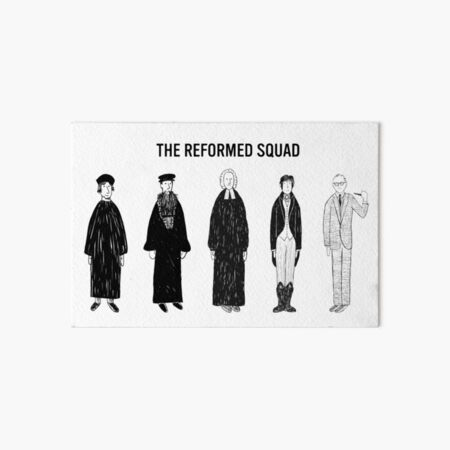 The Reformed Squad Art Board Print