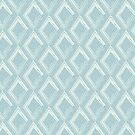 Modern Farm House Diamond Abstract Blue by susycosta