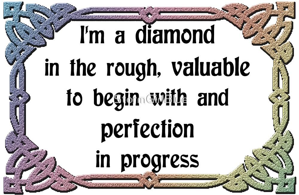 rough diamond by StormGirlBlue