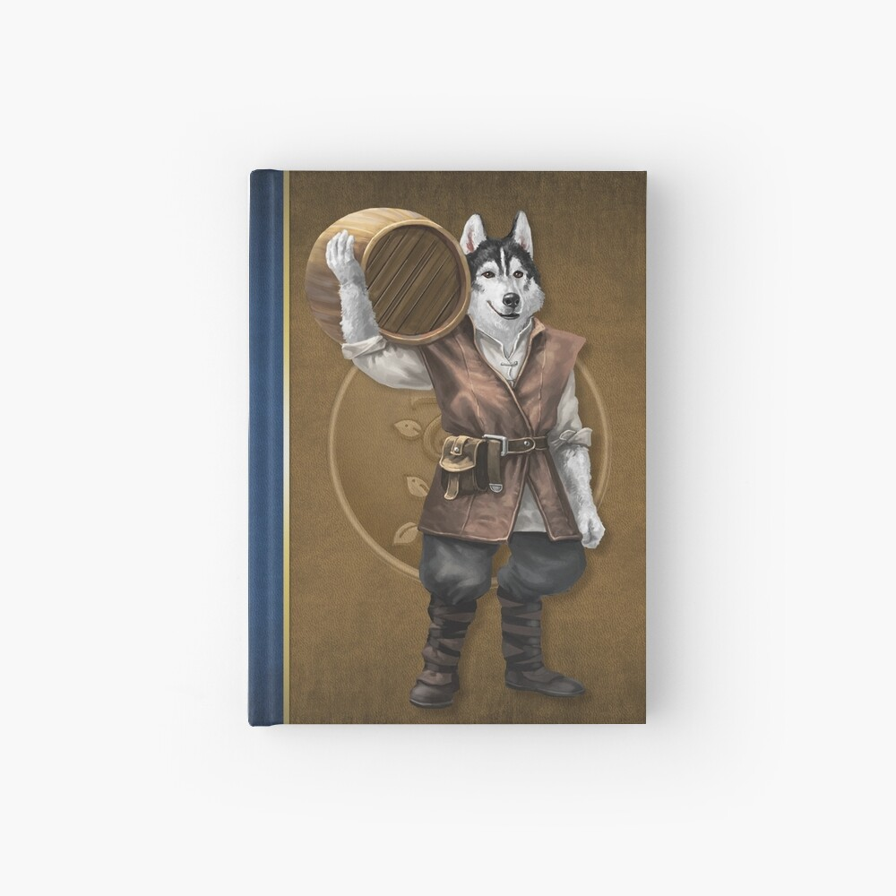 Pugmire: Gemini Husky, Worker Breed Hardcover Journal
