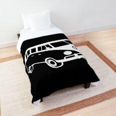 Mens VdUB Campervan vdub Camper Retro camp Van Top camp Comforter