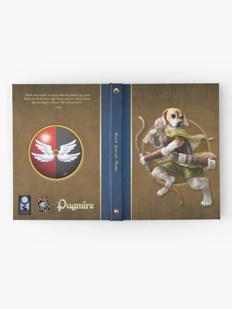 Alternate view of Pugmire: Cokie, Mutt Breed Hardcover Journal