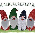 Frohe Weihnachten Zwerge von blursbyai
