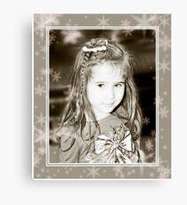 .....girl..... Canvas Print