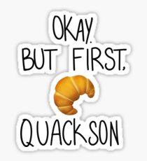 quackson Sticker