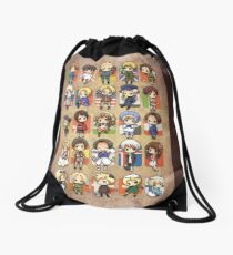 Hetalia Group Drawstring Bag