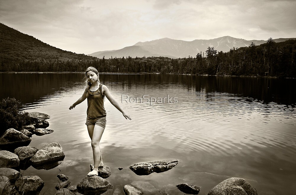 Lonesome Lake by RonSparks