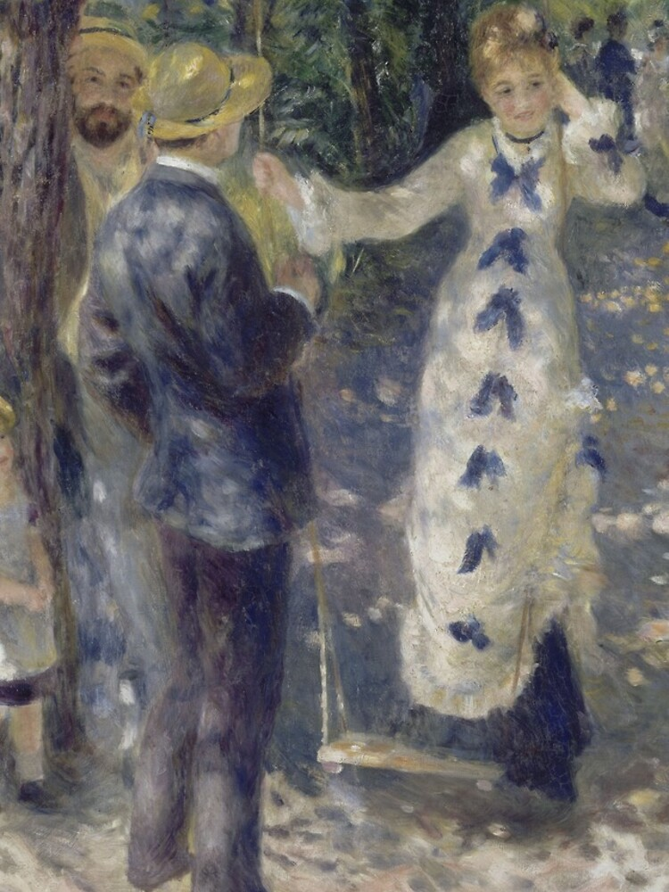 The Swing Oil Painting by Auguste Renoir by podartist