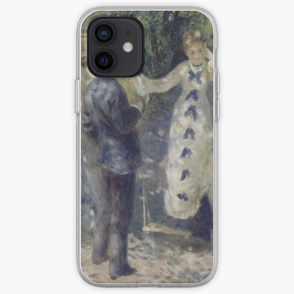 The Swing Oil Painting by Auguste Renoir iPhone Case & Cover