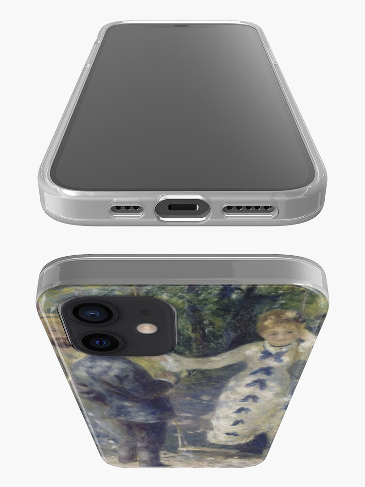Alternate view of The Swing Oil Painting by Auguste Renoir iPhone Case & Cover